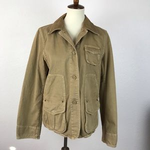 J. Crew Cotton Pockets Jackets JKT197